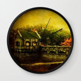 Dam Wall Wall Clock