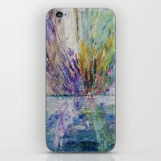 Live life to the fullest - abstract painting iPhone & iPod Skin