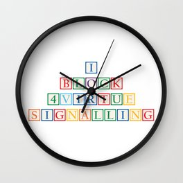 Virtue Wall Clock