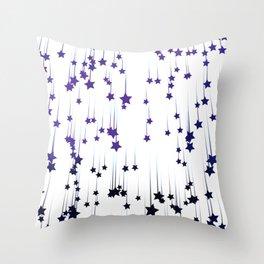 Abstract starfall Throw Pillow