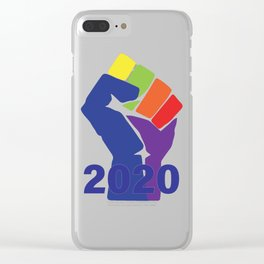 The Resistance 2020 Clear iPhone Case