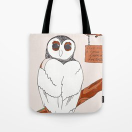 House of Learned Doctors Tote Bag
