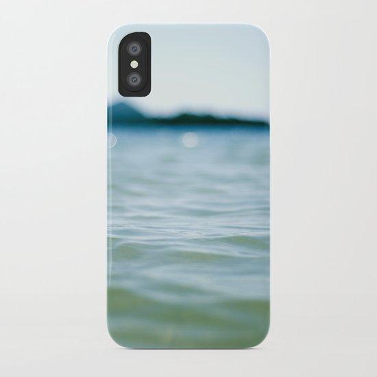 Wave Bokeh The Deep End iPhone Case