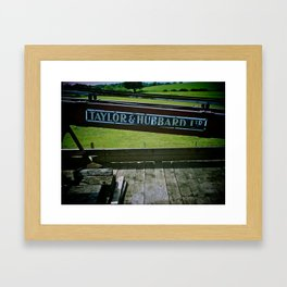 Breakdown Train, Kent & East Sussex Railway Framed Art Print