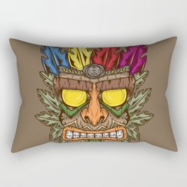 Tiki Rectangular Pillow