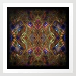 Journey To The Centre Of A Thoughtwave Art Print
