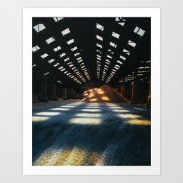 Salt Store - Middlesbrough Art Print