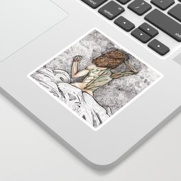 She Is Nature Sticker