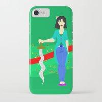 mulan iPhone & iPod Cases featuring Mulan by Eva Duplan Illustrations