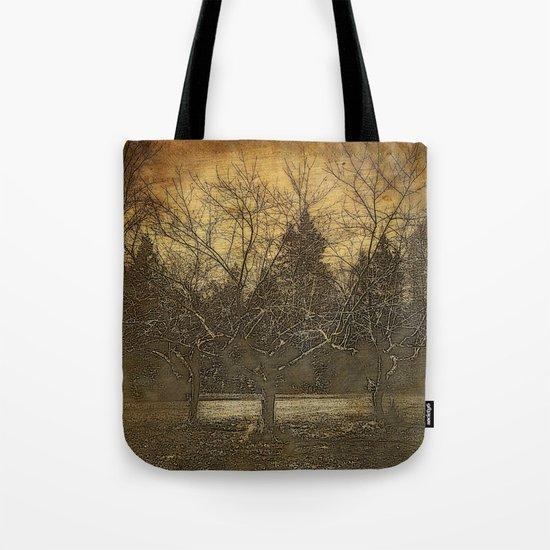 Halloween | The Three Sisters | 3 Haunting Trees | Nadia Bonello Tote Bag