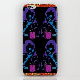 Dumpster Skeleton iPhone Skin