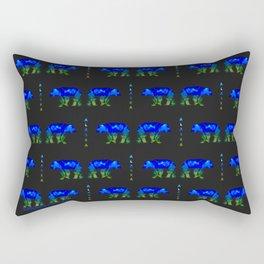 Grizzly in Alaska Shadows Rectangular Pillow