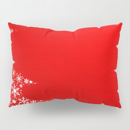 Red Christmas Pillow Sham