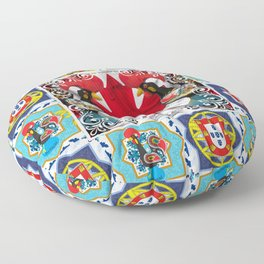 Portugese Canadian Floor Pillow