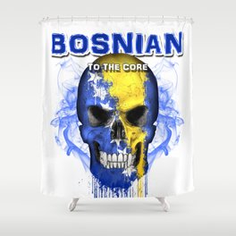 To The Core Collection: Bosnia & Herzegovina Shower Curtain