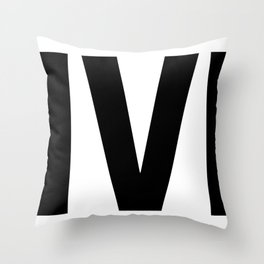 Deliverer Throw Pillow