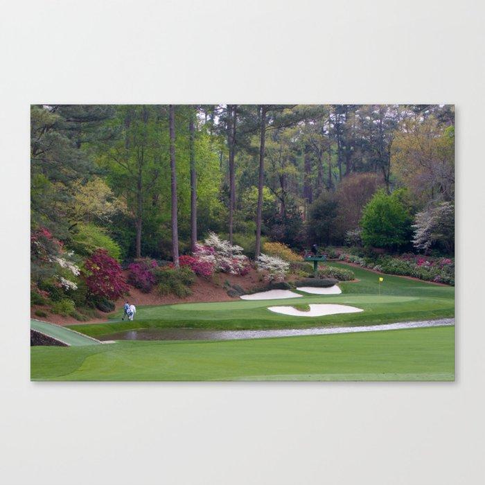Augusta Amen Corner Golf Leinwanddruck