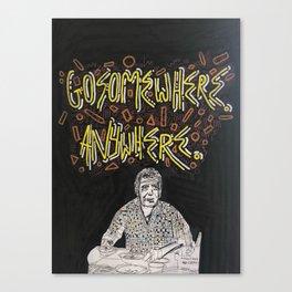 Thank You, Tony Canvas Print