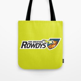 Fire Breathing Rowdys Full Logo Tote Bag
