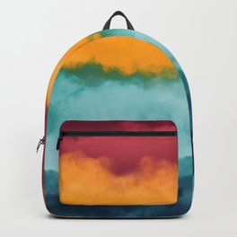 Storm at Coast Backpack