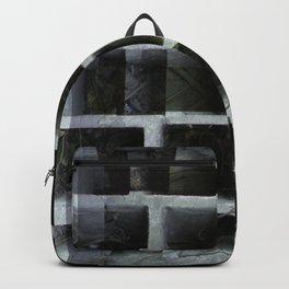Abandoned wall xperiment xposure Backpack