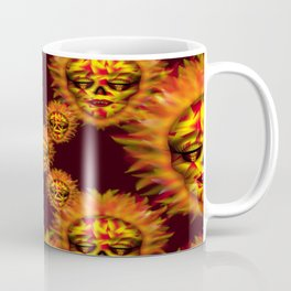 Flaming Skull 2 Coffee Mug