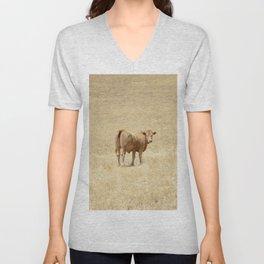 Cow No. 001 Unisex V-Neck
