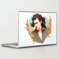 harry styles Laptop & iPad Skins featuring Harry Styles by chazstity
