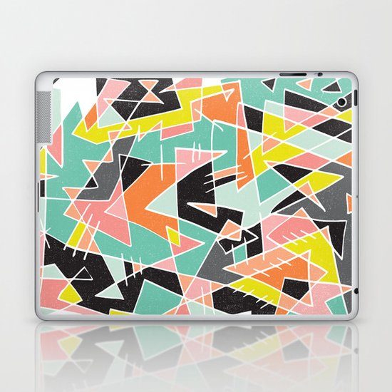 ABSTRACT 3 Laptop & iPad Skin