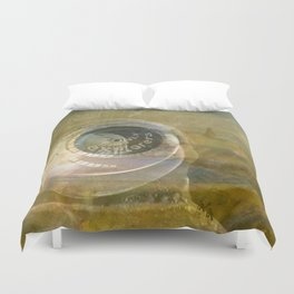 TMT / The Biggest Spatial Eye / EXPLORERS ONLY Duvet Cover