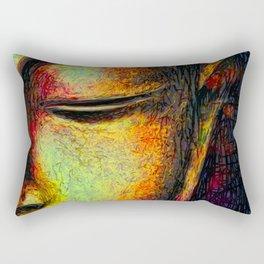 Buddha portrait Rectangular Pillow