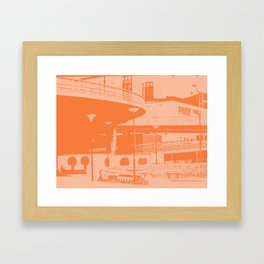 Bridge 25 Framed Art Print