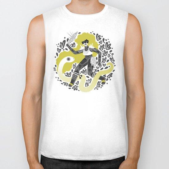 The Serpent Knight Biker Tank