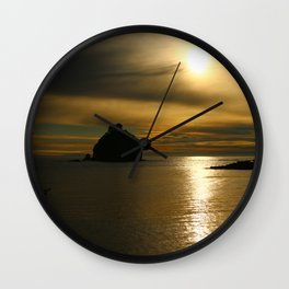 Before The Day Is Out Wall Clock