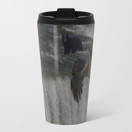 The Gathering Place - Wildlife Scene Travel Mug