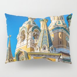 Russian Orthodox Cathedral, Nice France Pillow Sham