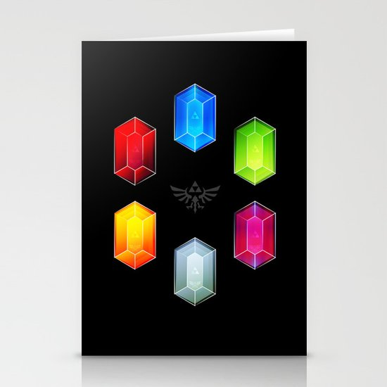 Zelda Just Want Them Rupees Stationery Cards