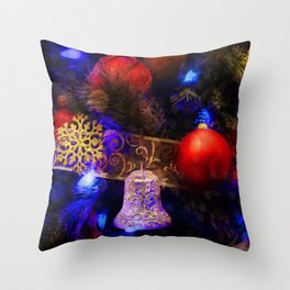 The Night Of Magic Throw Pillow