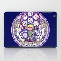 legend of zelda iPad Cases featuring The Legend Of Zelda by NicoleGrahamART