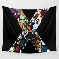cyclops Wall Tapestries featuring X1 by Andrew Formosa