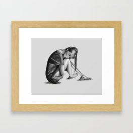The Left Behinds Framed Art Print