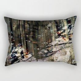 Snow Borne Sorrow Rectangular Pillow
