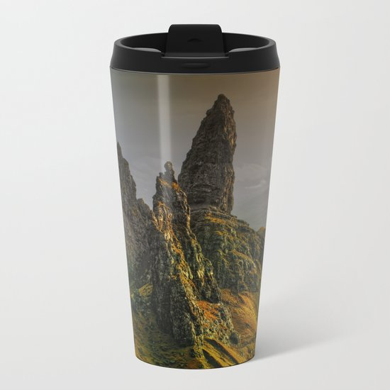 Rock II Metal Travel Mug