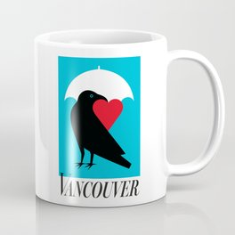 Vancouver's Canuck the Crow Coffee Mug