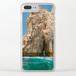 Cabo San Lucas XII Clear iPhone Case
