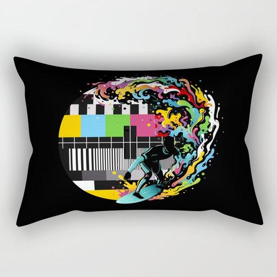 Pattern Surfer Rectangular Pillow