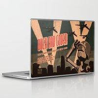 propaganda Laptop & iPad Skins featuring Propaganda Series 2 by Alex.Raveland...robot.design.digital.art