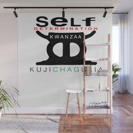 KUJICHAGULIA = SELF DETERMINATION Wall Mural