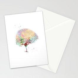 Purkinje Neuron Stationery Cards