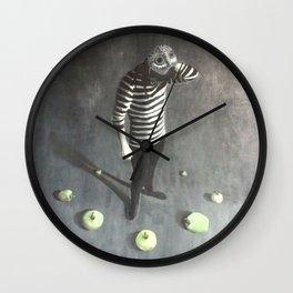 Mask Off Wall Clock